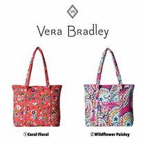 Vera Bradley Flower Patterns Casual Style Totes