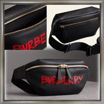 Burberry Street Style Leather Hip Packs