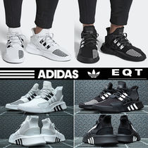 adidas Faux Fur Street Style Plain Sneakers
