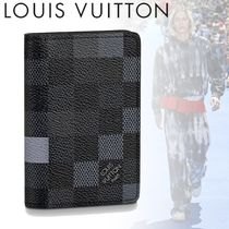 Louis Vuitton DAMIER GRAPHITE Louis Vuitton Folding Wallets