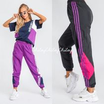 adidas Casual Style Unisex Street Style Cotton Long Pants