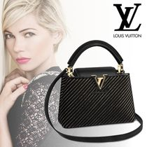 Louis Vuitton CAPUCINES 2WAY Party Style Party Bags