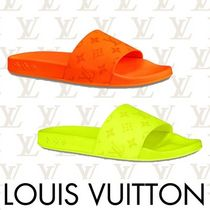 Louis Vuitton Monogram Shower Shoes Shower Sandals
