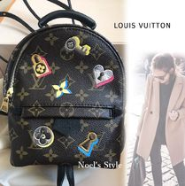 Louis Vuitton Monogram Casual Style Canvas Backpacks