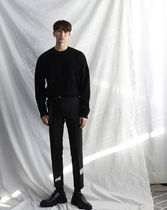 ASCLO Slax Pants Street Style Collaboration Plain Co-ord