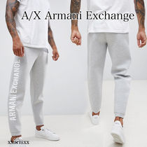 A X Armani Exchange Blended Fabrics Street Style Plain Joggers   Sweatpants f9203fbac9130