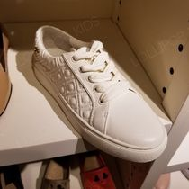 Tory Burch Leather Low-Top Sneakers
