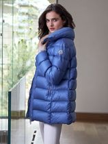 MONCLER TORCYN Street Style Plain Long Oversized Down Jackets