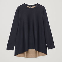 COS Wool Plain Tunics