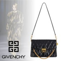 GIVENCHY 2WAY Chain Plain Leather Party Style Shoulder Bags