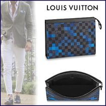 Louis Vuitton DAMIER GRAPHITE Louis Vuitton Clutches