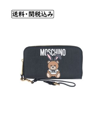 Moschino Long Wallets