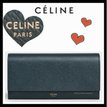 CELINE Classic CELINE Long Wallets
