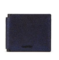LANVIN LANVIN Folding Wallet IRIDESCENT GRAINED LEATHER WALLET