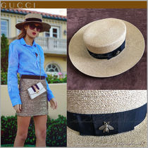 GUCCI GUCCI Straw Hats