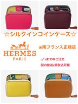 HERMES Silk In HERMES Coin Purses
