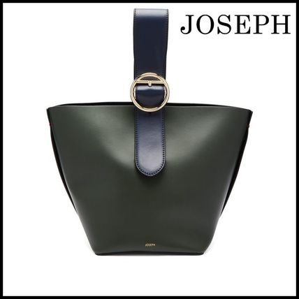 Casual Style Leather Handbags