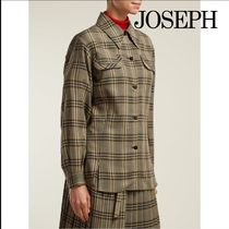JOSEPH Casual Style Wool Long Sleeves Shirts & Blouses