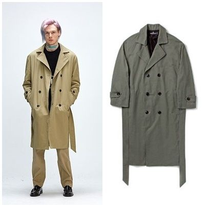 Unisex Street Style Long Trench Coats