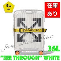Off-White Off-White Luggage & Travel Bags