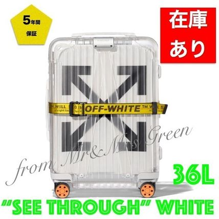 Off-White Luggage & Travel Bags