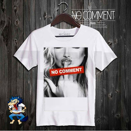 NO COMMENT PARIS Crew Neck NO COMMENT PARIS Crew Neck 2
