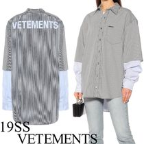 VETEMENTS VETEMENTS Shirts & Blouses