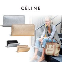 CELINE Zipped CELINE Long Wallets