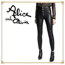 Alice+Olivia Alice+Olivia Leather & Faux Leather