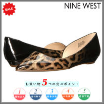 Nine West Open Toe Other Animal Patterns Party Style Espadrille Shoes
