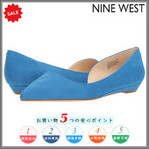Nine West Open Toe Leather Party Style Espadrille Shoes