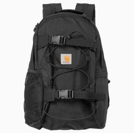 Carhartt Unisex Canvas Street Style Plain Backpacks by miIktea - BUYMA