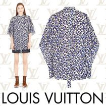 Louis Vuitton Monogram Casual Style Cropped Cotton Medium Shirts & Blouses