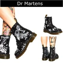 Dr Martens Plain Toe Casual Style Plain Wedge Boots