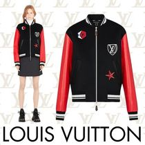 Louis Vuitton Short Casual Style Wool Plain Jackets