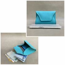 Plain Leather Small Wallet Accessories