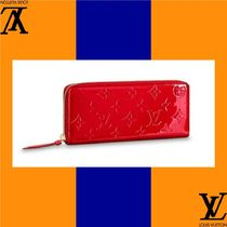 Louis Vuitton Monogram Leather Handmade Long Wallets