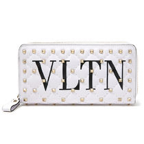VALENTINO Studded Bi-color Long Wallets