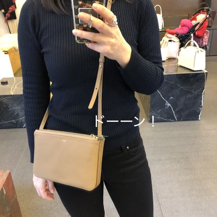 88fb176db ... CELINE Shoulder Bags Lambskin 2WAY Plain Focused Brands Shoulder Bags  ...