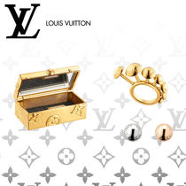 Louis Vuitton Studded Elegant Style Rings