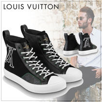 Louis Vuitton Monogram Street Style Sneakers