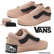 VANS OLD SKOOL Unisex Suede Plain Sneakers