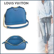 Louis Vuitton ALMA Blended Fabrics 3WAY Bi-color Leather Elegant Style