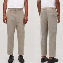 COS Tapered Pants Corduroy Plain Tapered Pants