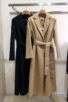MaxMara Plain Long Coats