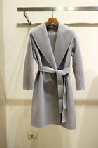 MaxMara Wool Plain Medium Coats