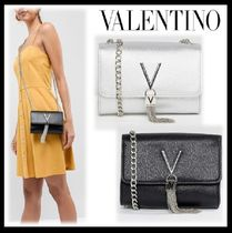VALENTINO Blended Fabrics Plain Party Style Home Party Ideas