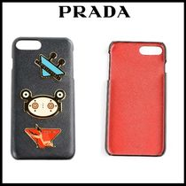 PRADA Unisex Street Style Smart Phone Cases