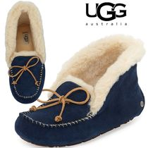 UGG Australia ALENA Sheepskin Slip-On Shoes