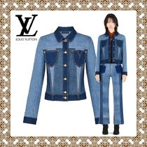 Louis Vuitton Short Casual Style Blended Fabrics Jackets